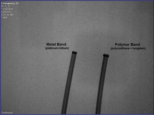platinum iridium marker bands