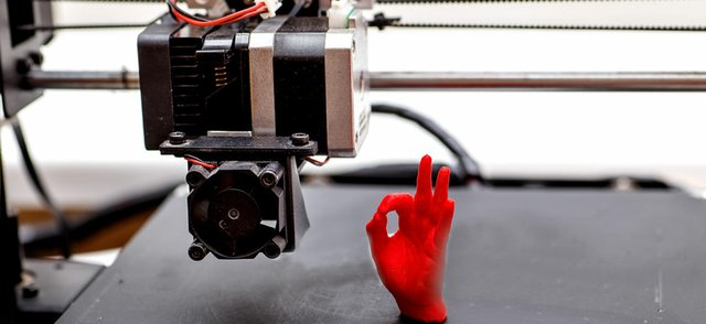 3D Printed Hand