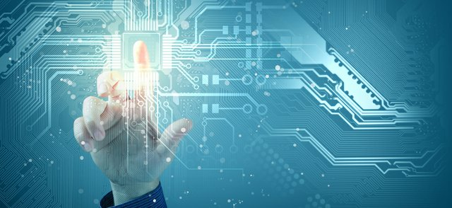 Digital Future Concept