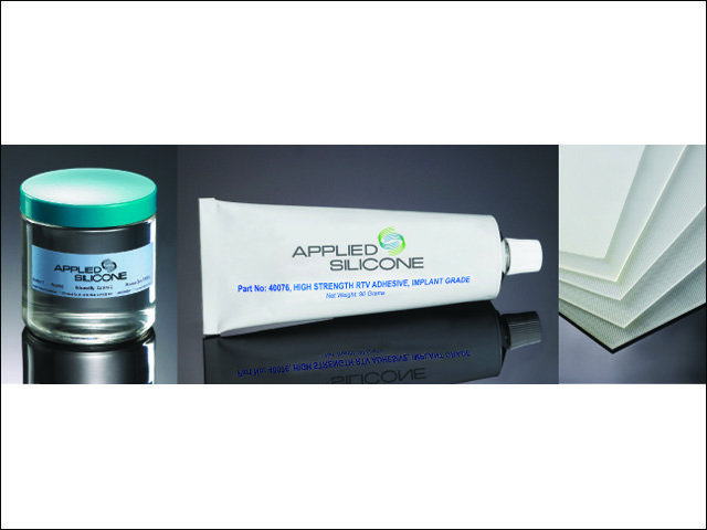 Applied silicone