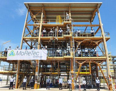 LyondellBasell successfully pilots molecular recycling facility