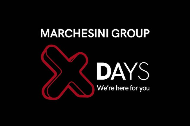 Marchesini Group doubles the dates for X DAYS