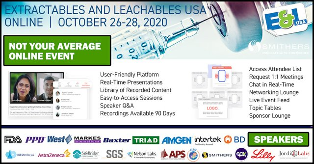 Extractables and Leachables USA Online 2020