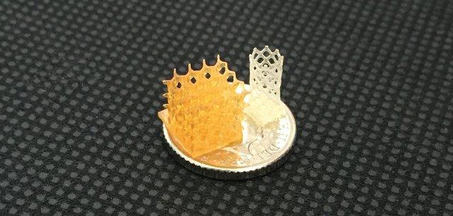 Sample scaffold from 4D Biomaterials.JPG