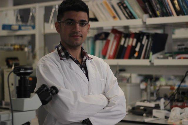 Graduate student Payam Zachkani